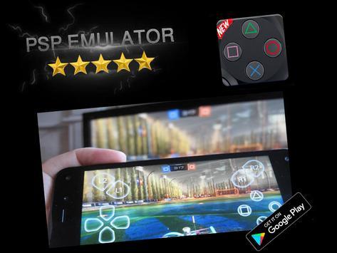 Poster Emulatore PSP - Giochi PSP per Android