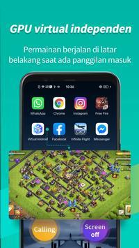 Virtual Android screenshot 2