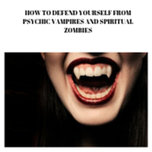 PSYCHIC VAMPIRES AND SPIRITUAL ZOMBIES icon