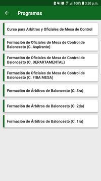 Escuela de Formación Arbitral del CABA screenshot 2