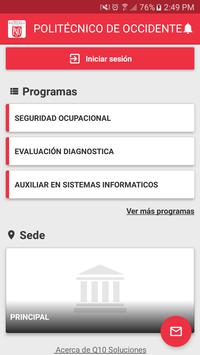 POLITÉCNICO DE OCCIDENTE screenshot 1