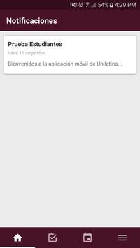 Unilatina screenshot 4