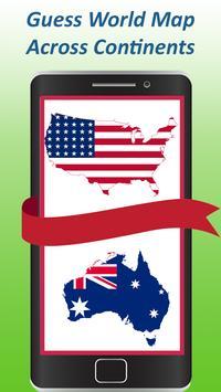 World map quiz & Geography trivia game screenshot 18
