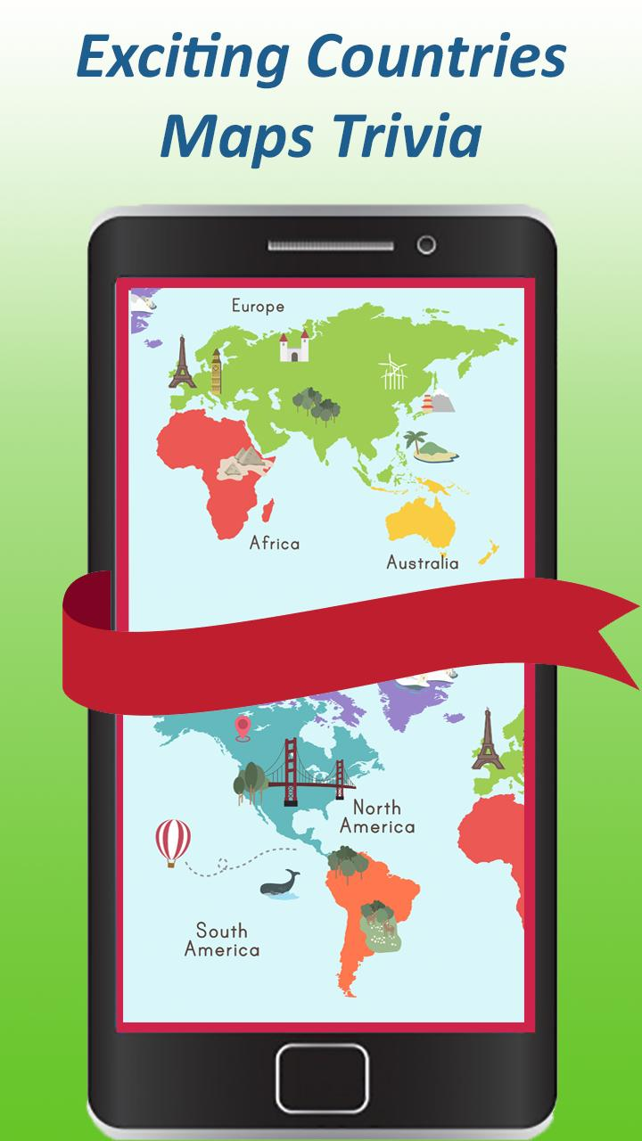 World map quiz & Geography trivia game for Android - APK ...