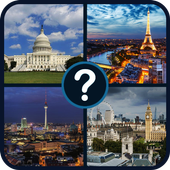 Capital cities quiz: World geography quiz icon
