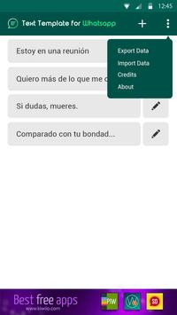 Templates for WhatsApp screenshot 1