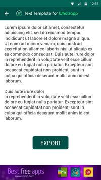 Templates for WhatsApp screenshot 4