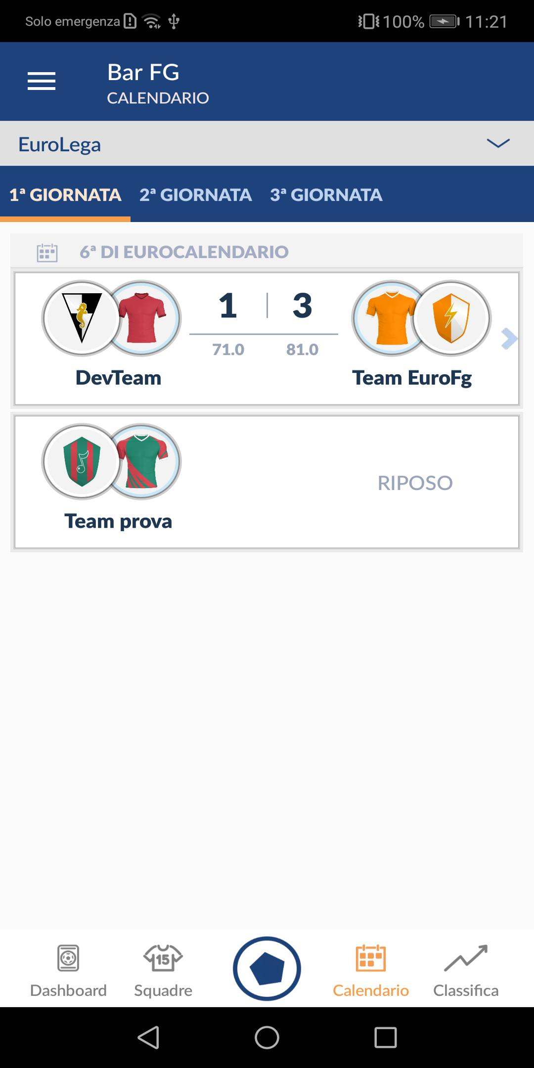 Calendario Euroleghe Fantagazzetta.Euroleghe Fantacalcio For Android Apk Download