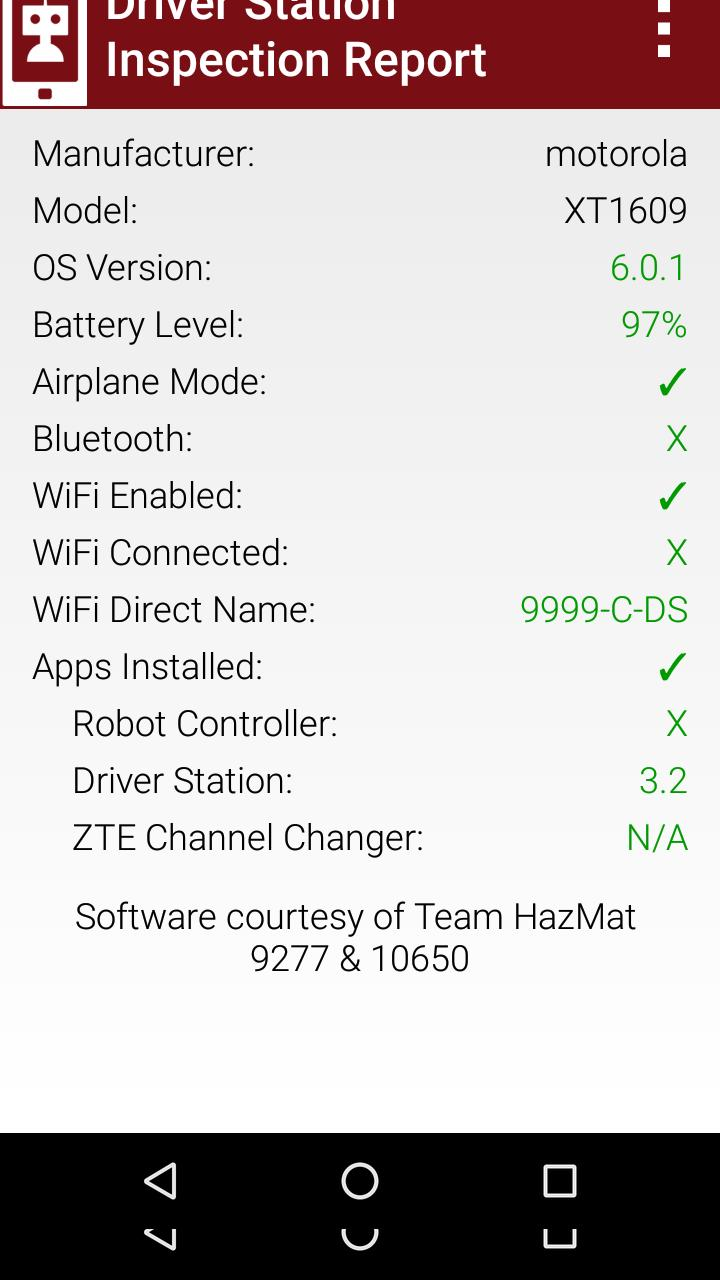 FTC Driver Station for Android - APK Download