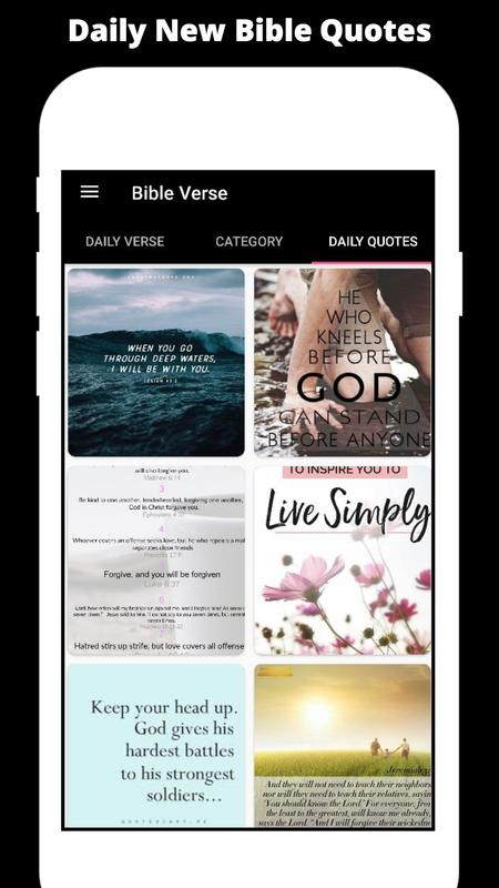 Daily Bible Verse And Holy Bible Quotes For Android Apk Download