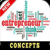 Entrepreneurship Skills Mindset and Concepts icon