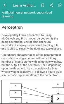 Learn Artificial Neural Network screenshot 2