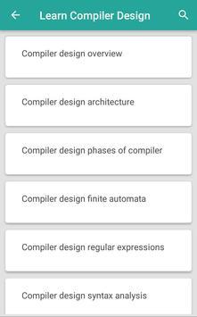 Basic Compiler Design for Android - APK Download