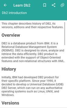 Basic DB2 poster