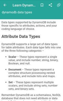 Learn Dynamodb poster