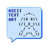 ASCII Text Art 아이콘