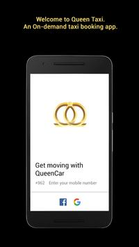 Queen Car - Car Booking App screenshot 1