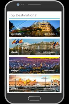 Spain Hotel Booking poster