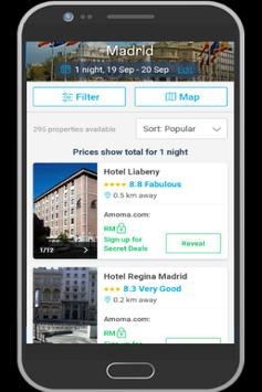 Spain Hotel Booking screenshot 4