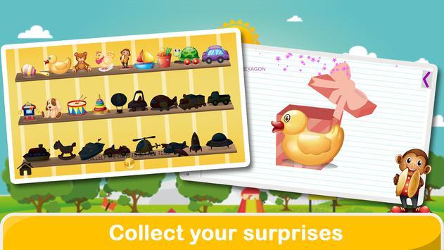 Jeux préscolaires pour enfants capture d'écran 4