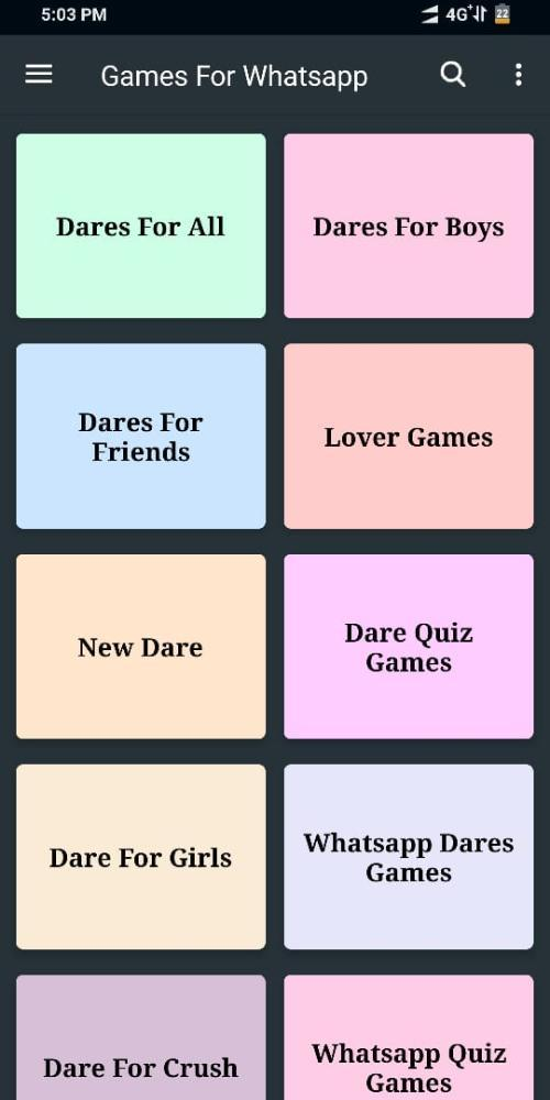Questions For Whatsapp Dare Games For Whatsapp For Android