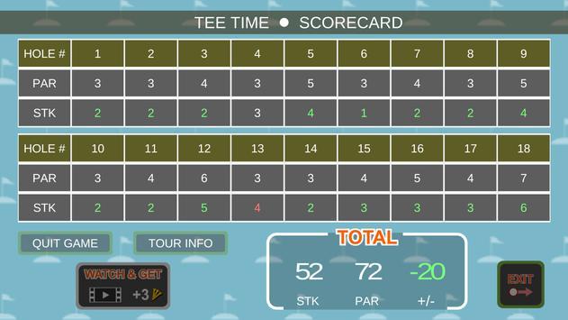 Mini Arcade Golf: Pocket Tours screenshot 14
