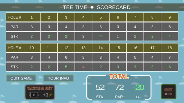 Mini Arcade Golf: Pocket Tours screenshot 22
