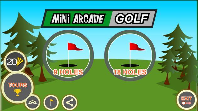 Mini Arcade Golf: Pocket Tours screenshot 7