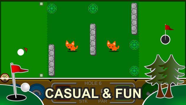 Mini Arcade Golf: Pocket Tours screenshot 8