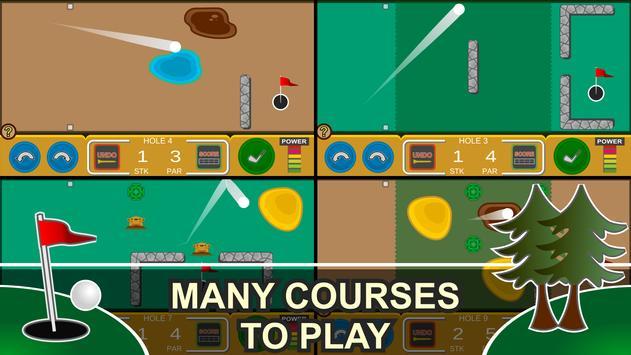 Mini Arcade Golf: Pocket Tours screenshot 9