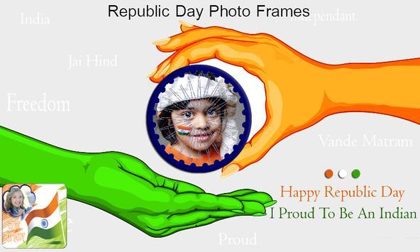 Republic Day HD Photo Frames - indian Republic day screenshot 3