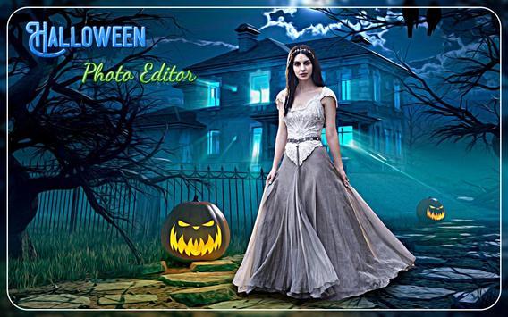 Halloween Photo editor poster