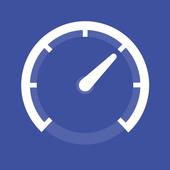 Net speed Meter : Internet  Bandwidth Speed Test icon