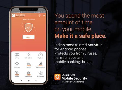 Antivirus and Mobile Security plakat