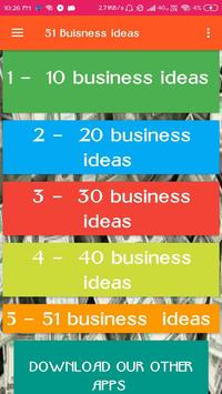 51 business ideas in hindi - the best ideas poster