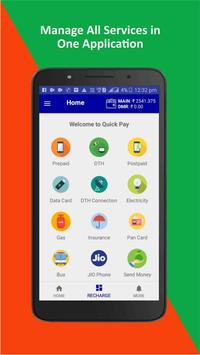 Recharge, Bill Payment, Money Transfer poster
