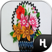 Quiling Art Paper Flowers icon