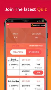 Quizowin-Play Predict and Win screenshot 1