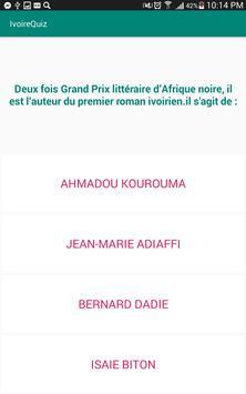 IvoireQuiz screenshot 4
