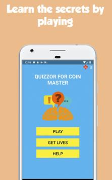 Quizzor for Coin Master poster