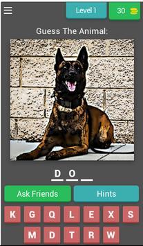 Animal Quiz Guessing Game poster