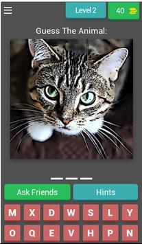 Animal Quiz Guessing Game screenshot 2
