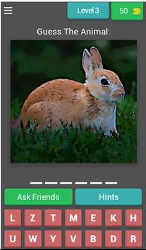 Animal Quiz Guessing Game screenshot 3
