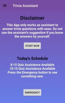Trivia Assistant screenshot 1