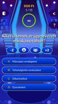 Milliomos screenshot 1