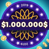 Millionaire 2019 - General Knowledge Quiz Online icon