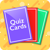 QuizCards: Flashcard Maker for Study and Quiz أيقونة