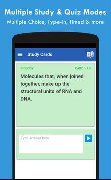 QuizCards: Flashcard Maker for Study and Quiz تصوير الشاشة 4