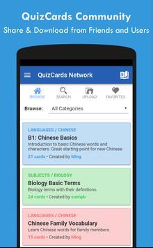 QuizCards: Flashcard Maker for Study and Quiz تصوير الشاشة 5