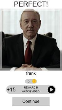 Quiz House of Cards screenshot 1